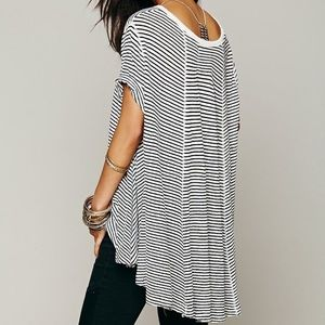 Free People Circles In The Sand Tee
